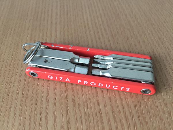 GIZA PRODUCTS(ギザプロダクツ)6機能ツール