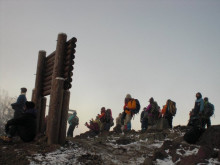 12月の雲取山へ~三峰神社(埼玉秩父)ルート
