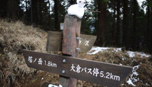 冬の丹沢・塔ノ岳~丹沢山~鍋割山:その5