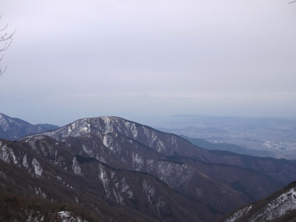 冬の丹沢・塔ノ岳〜丹沢山〜鍋割山