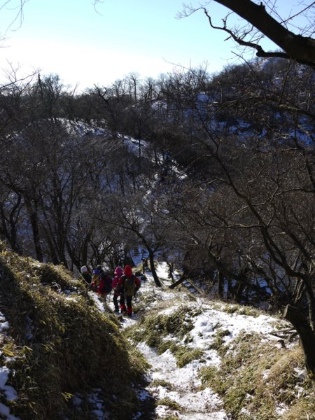 冬の丹沢・塔ノ岳~丹沢山~鍋割山