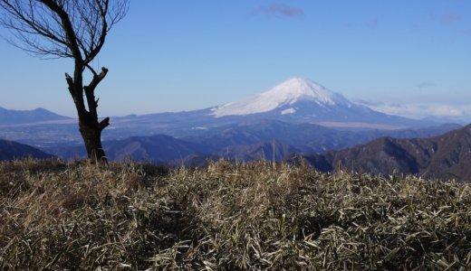 冬の丹沢・塔ノ岳〜丹沢山〜鍋割山:その1