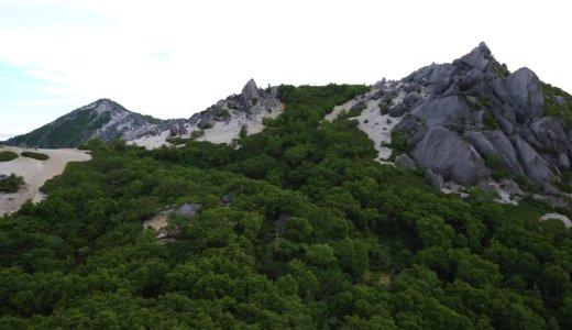 南御室小屋~薬師岳~観音岳~地蔵岳~青木鉱泉へ。南アルプス・鳳凰三山へ登った!