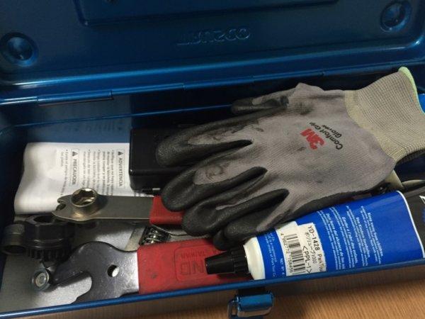 トラスコ中山の日本製スチールツールボックスに工具を入れてみた
