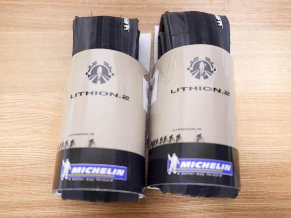 クロスバイクのタイヤ「ミシュランのリチオン2(700×25c)」