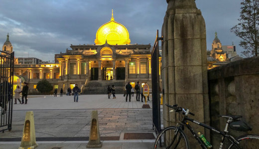 お正月の初詣や厄除けで有名な川崎大師へ。東京都内から自転車ツーリング